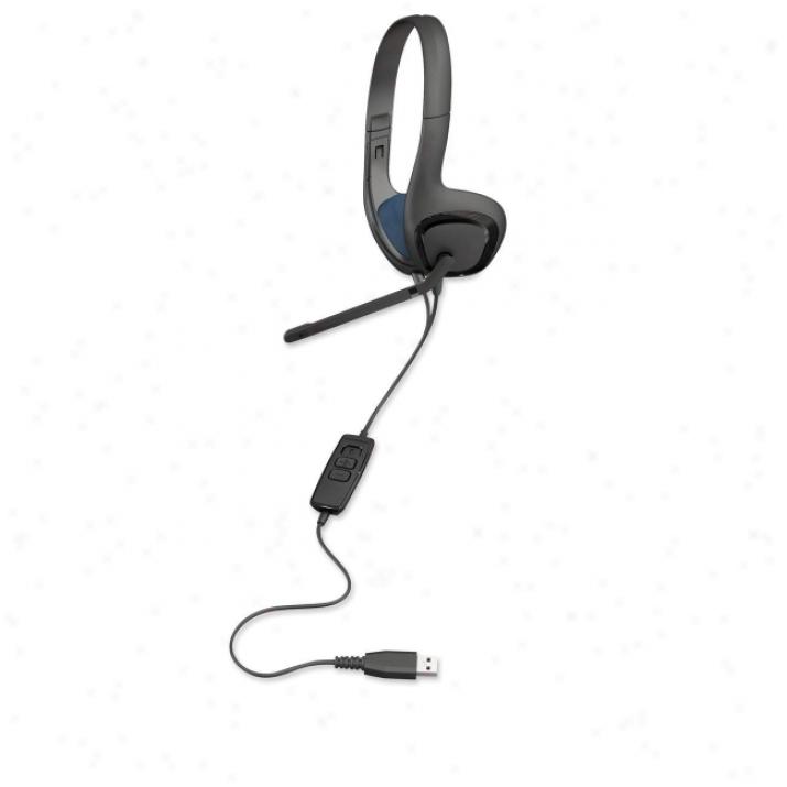 Plantronics Audio626 Headset - Stereo - Black - Usb
