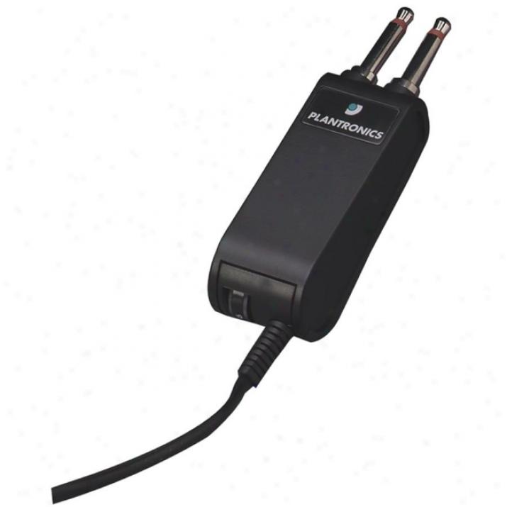 Plantrojics P10 Plug Prong Headset Adapter