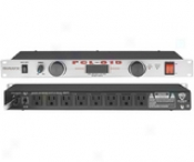 Power Line Conditioner With Slide-out Front Panel Lights