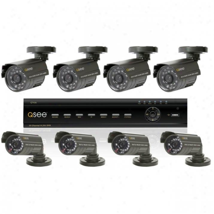 Q-see Qt426-811-5 Video Surveillance System