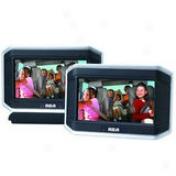 Rca 8ã¢â'¬? Dual Screen Travel Dvd System - Drc6389