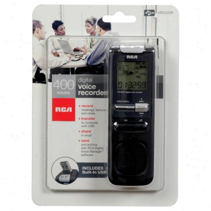 Rca Vr5320r Digital Voice Recorder