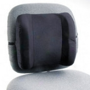 Remedease High Profile Backrest, 13w X 4-1/2d X 12-1/2h, Black