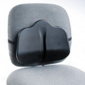 "Safco Softspot Seat Cushion - Non-zbtasive, Anti-static, Washable - 14"" X 2.5"" X 11"" - Black"