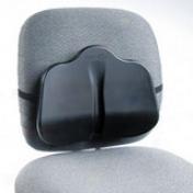 "Safco Softspot Seat Cushion - Non-zbtasive, Anti-static, Washable - 14"" X 2.5"" X 11"" - Black"