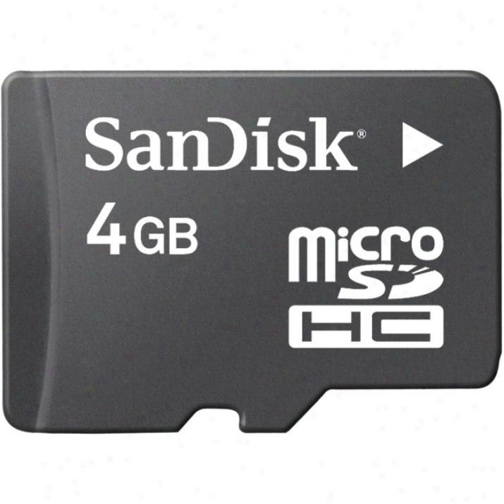 Sandisk Sdsdq-4096-p36a Microsd High Capacity (microsdhc)