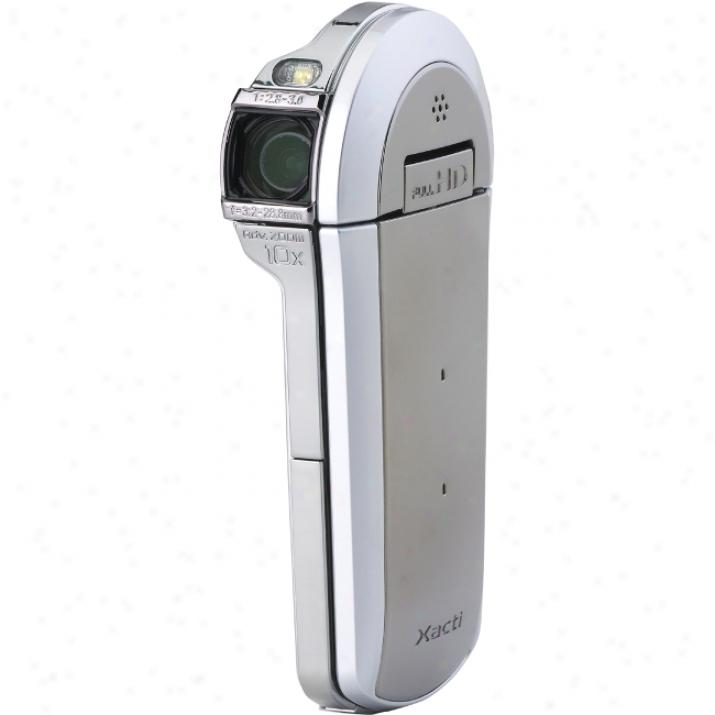 "Sanyo Xacti Vpc-cs1 Digital Camcorder - 2.7"" Lcd - Cmod - Silcer"