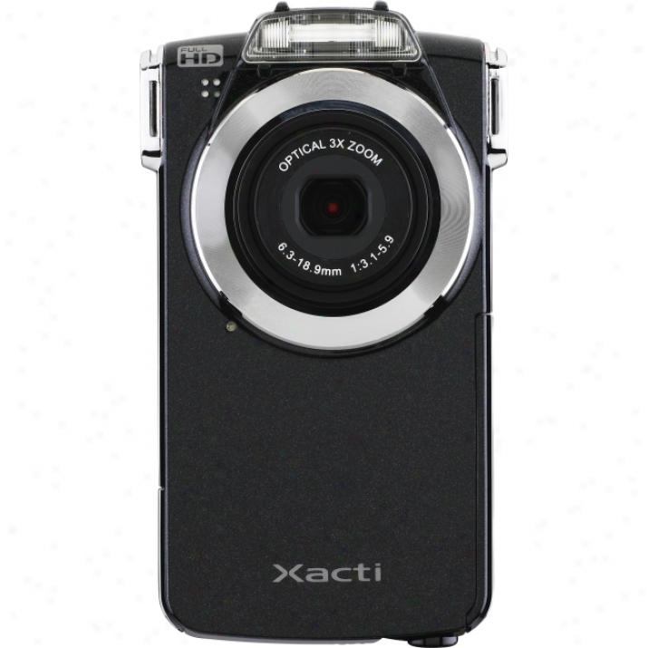 "Sanyo Xacti Vpc-pd2 Digital Camcorder - 2"" Lcd - Cmos - Black"