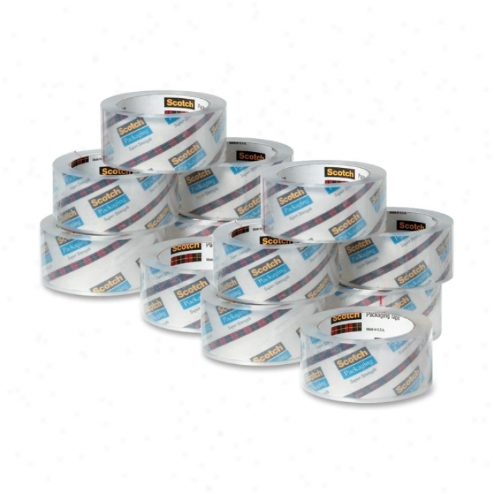 Scotch Clear-to-the-core Packaging Tape