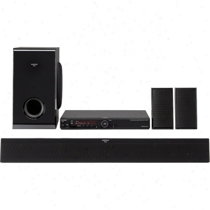 Sharp Bd-mpc41u 1.02 Kw 5.1 Home Theater A whole