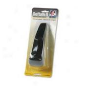 Softalk Softalk Ii Telephone Shoulder Rest - Non-skid - Black