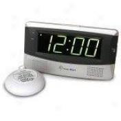 Sonic Boom Alarm Clock White