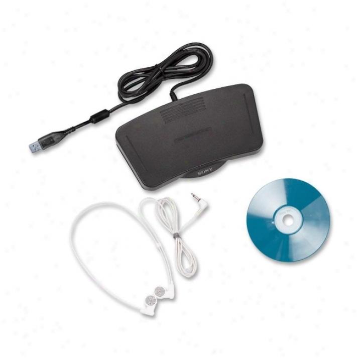 Sony Digital Voice Registrar Transcriptipn Kit