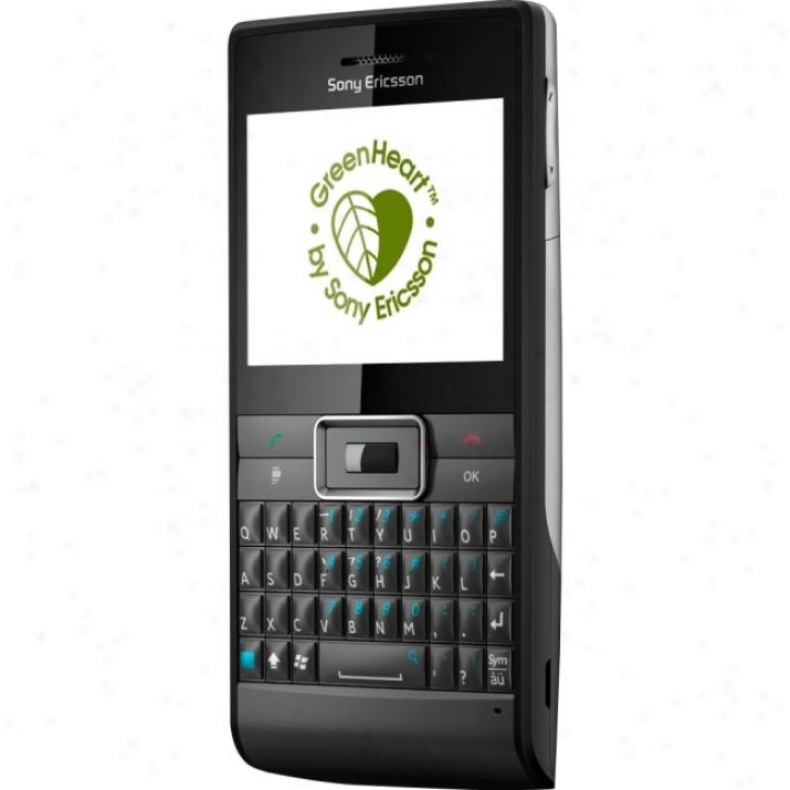 Sony Ericsson Aspen Smartphone - Bar - Black