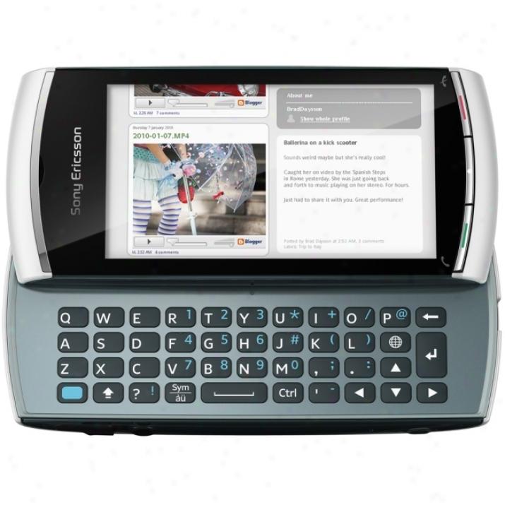 Sony Ericsson Vivaz Pro Smartphone - Slide - White