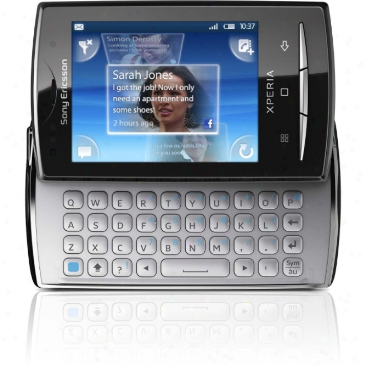 Sony Ericsson Xperia X10 Mini Pro Smartphone - Slide - White