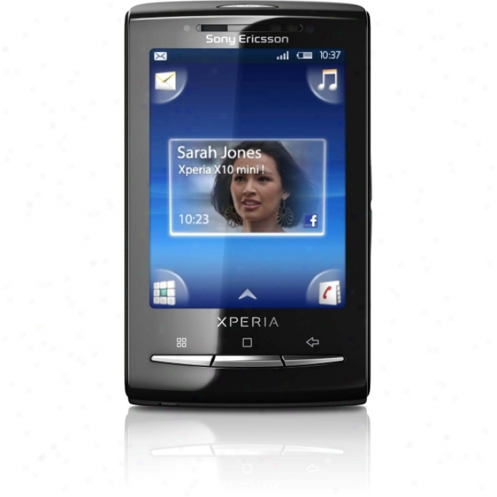 Sony Ericsson Xperia X10 Mini Smartphone - Bar - Dismal
