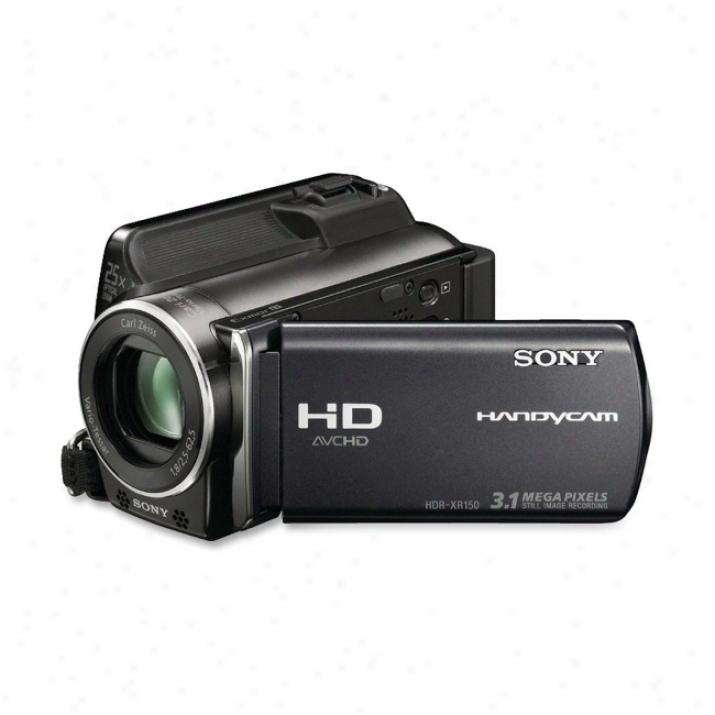 "Sony Handycam Hdr-xr150 Digital Camcorder - 2.7"" Lcd - Touchscreen - Cmos - Black"