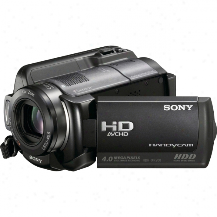 Sony Handycam Hdr-xr200v High Definition Digital Camcorder