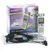 Sony Icd-mx20 32mb Digital Voice Recorder - 32mb Flash Memory - Portable