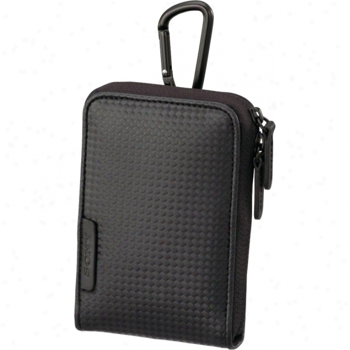 Sony Lcs-cs\/c/b Case For Cyber-shot Camera