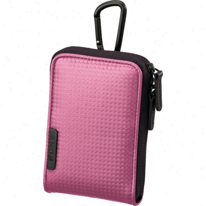 Sony Lcs-csvc/p Case For Cyber-shot Camera