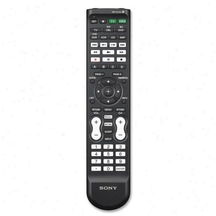 Sony Rm-vz320 Universal Remofee Control