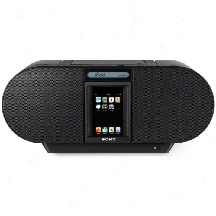 Sony Zs-s4ip Player Dock/radio/cd Mimic Boombox