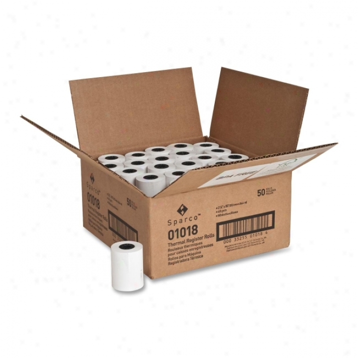 Sparco Thermal Paper Roll