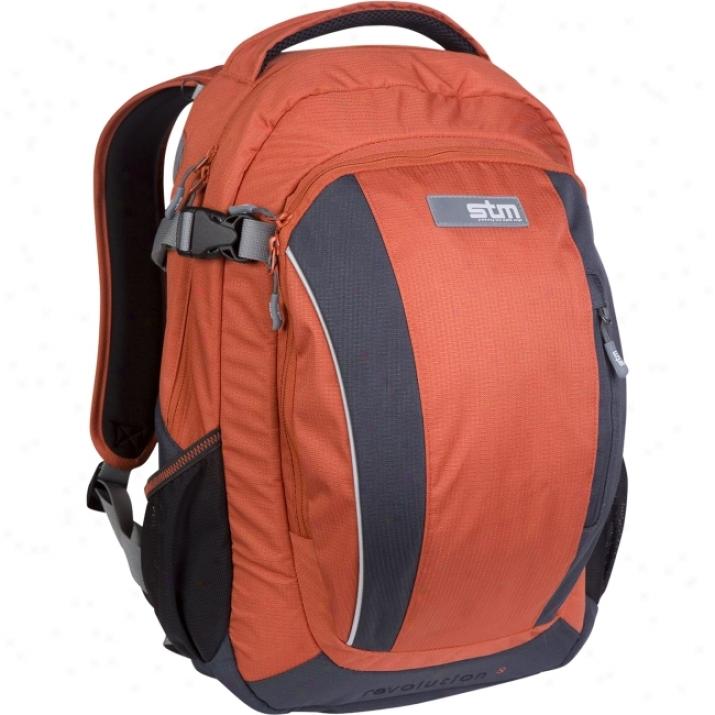 Stm Dp-3001-9 Notebook Case - Backpack - Ripstop - Carbon, Orange