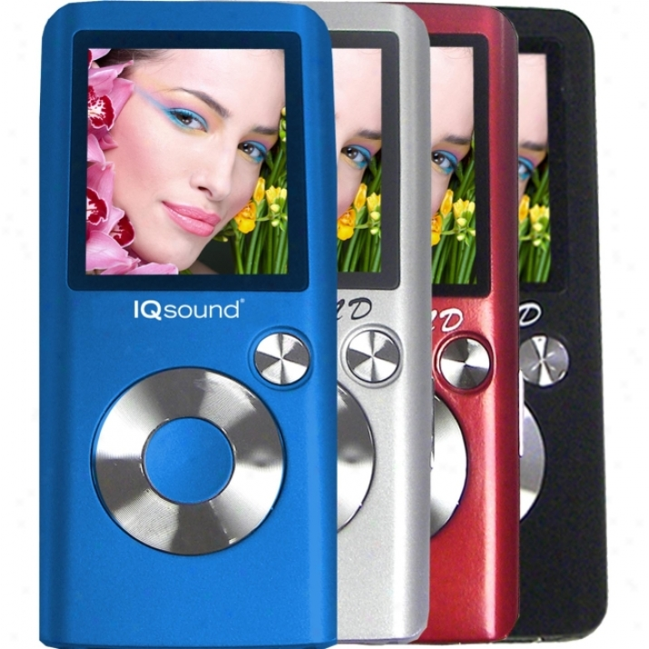 Supersonic 4600 4 Gb Red Flash Portable Media Player