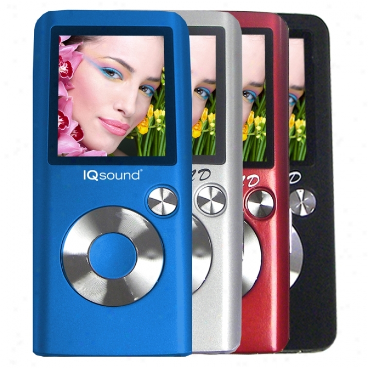 Supersonic Iq-2600 2 Gb Blue Momentary blaze Movable Media Player