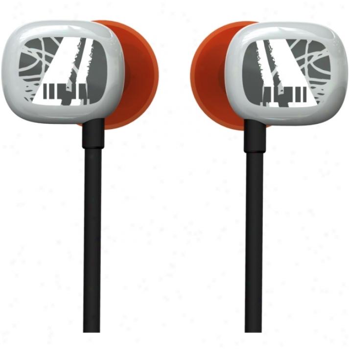 Ultimate Ears 100 Earphone - Stereo - Gray, Red - Mini-phone