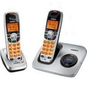 Uniden Dect1560-2 Compact Cordless Phone