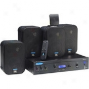 Xm Radio Business Music System With Jbl Speakers - 80-watt, 4 Jbl Control 1st Speakers