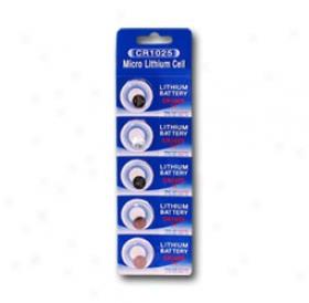 1 Card: 5pcw Wama Cr1025 Lithium Button Cells