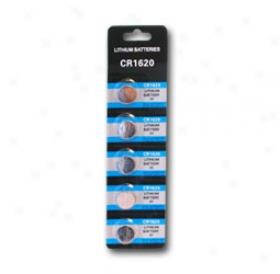1 Card: 5pcs Wama Cr1620 Lithium Button Cells