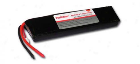11.1 Volt 5350mah 25c Li-poly Lipo Battery Pack