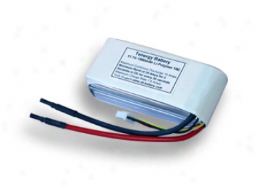11.1v 1650mah 10c Li-poly Lipo Battery Pack -- Limited Quantity