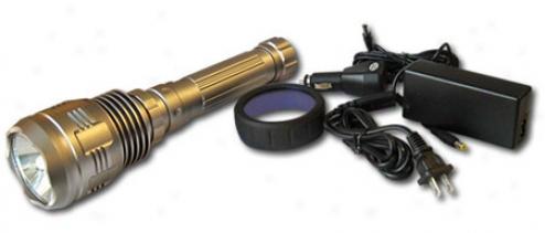 20w Hid Ultra High Power Rechwrgeable Flashlight