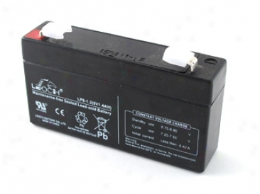 6v 1.2ah (lp6-1.2) Maintenance-free Sealed Lead Acid (sla) Battery