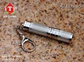 A2 Eos Stainless Steel Body Mini Flashlight