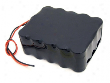 At: 24v 10000mah Square Nimh Battery For E-bikes, Scooters And Robots With Bare Leads