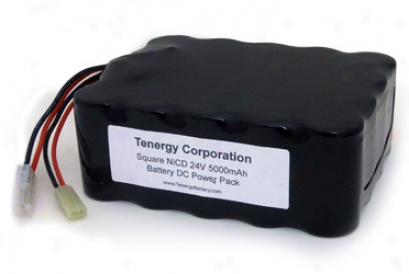 At: 24v 5000ma hSquare Nicd  Battery W/ Two Tamiya Connectors For E-bikes And Scooters