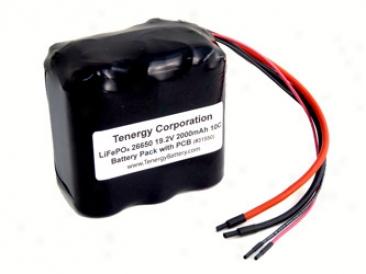 At: Lifepo4 19.2v 26650 2000ah 10c Rectangular Battery Bundle With Pcb