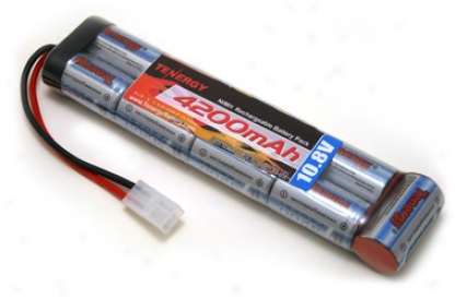 At: Tenergy 10.8v 4200mah Flta Nimh Airsoft Battery Pack