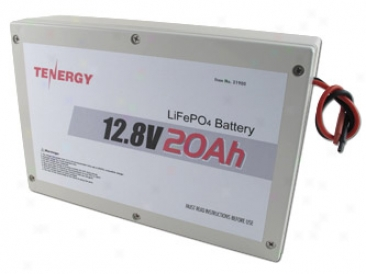 At: Tenergy 12.8v 20ah Lifepo4 Battery Pack In Plastic Case W/ Pcb
