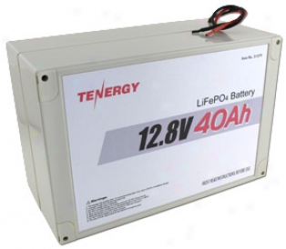 At: Tenergy 12.8v 40ah Lifepo4 Battery Pack With Pcb (shorrt Pack)