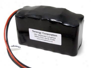 At: Tenergy 16v 4400mah Lifepo4 Battery Pack