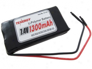At: Tenergy 7.4v 1150mah Lpio Pcb Protected Battery Pack W/ Bade Leads